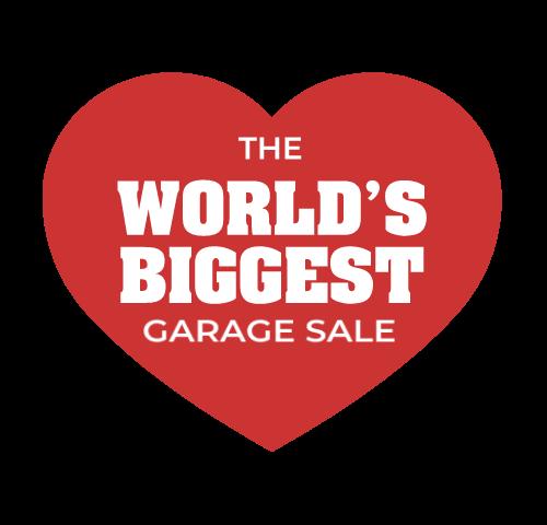 World's Biggest Garage Sale logo partner of National Retail Association