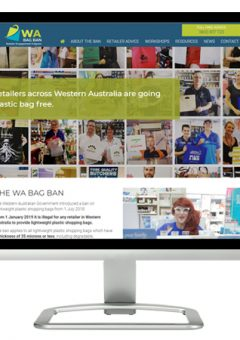 WA Bag Ban website
