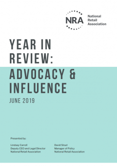 Year in Review: Advocacy and Influence | 2018-19