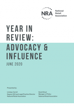 Year in Review: Advocacy, Policy and Influence | 2019-20