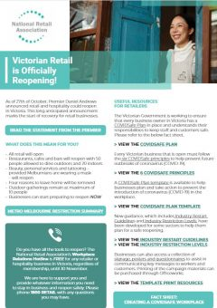 Victoria | Roadmap to Reopening