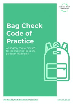 Bag Check Code of Practice